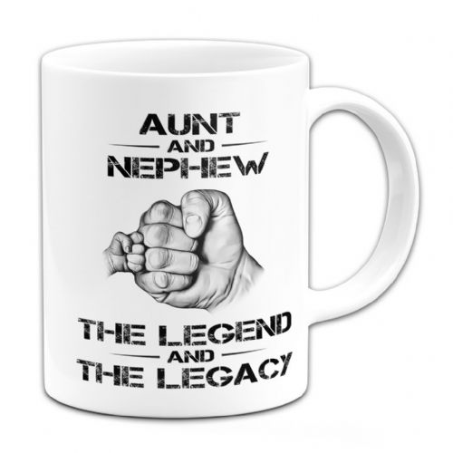 15oz The Legend And The Legacy Novelty Gift Mug